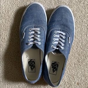 Light blue vans